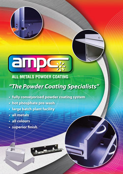 Powder Coating Brochure | AMPC | Boval Engineering | Penrith Sydney